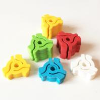 "7"" clip (kolor żółty)"
