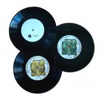 "Frenk Dublin / Blind Prophet / Clinton Sly - Dub Communication 3x7"" sales pack"