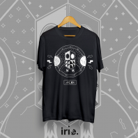 T-shirt Moonshine x Irie Design - czarny