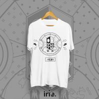 T-shirt Moonshine x Irie Design - biały