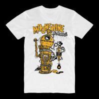 Moonshine Dub Destillery T-shirt White