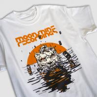 Moonshine Recordings x Tubby Isiah T-shirt White
